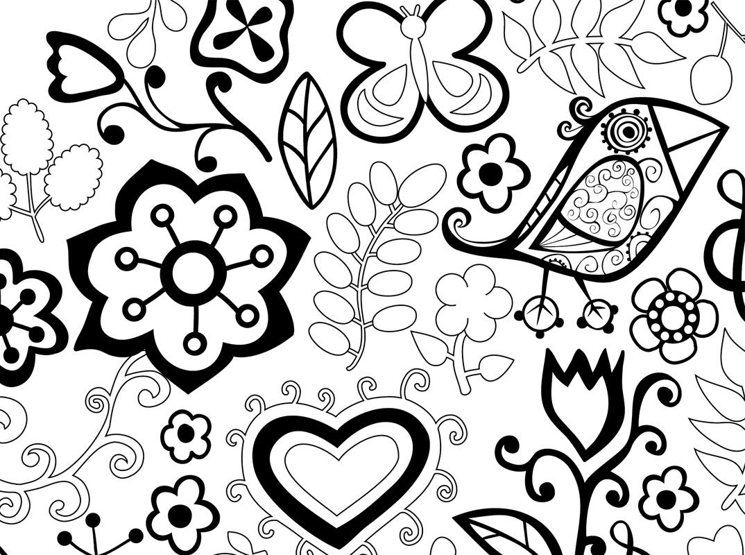 Coloriage pour adultes motifs d 39 animaux - Mandala pour adultes ...