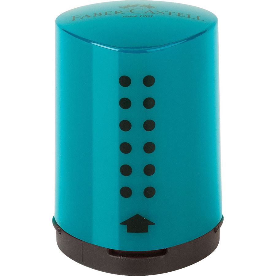 Faber-Castell - Grip Mini sharpening box, turquoise