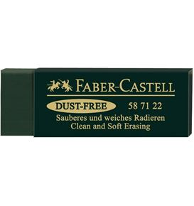 Faber-Castell - Gomme Dust-free vert