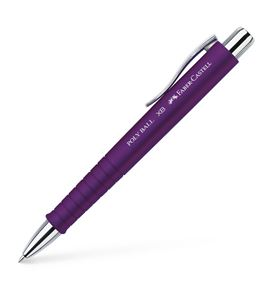 Faber-Castell - Stylo-bille Poly Ball XB prune