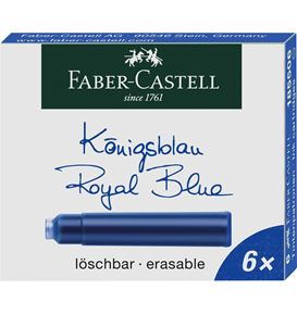 Faber-Castell - 6 cartouches d
