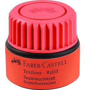 Faber-Castell - Textliner 1549 recharge rouge
